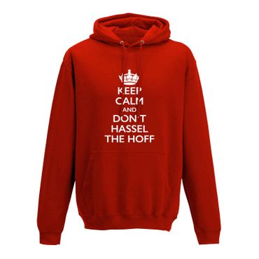 Hoodie Krone + Keep Calm don't Hassel the Hoff Baywatch 10 Farben Herren XS-5XL – Bild 10