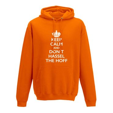 Hoodie Krone + Keep Calm don't Hassel the Hoff Baywatch 10 Farben Herren XS-5XL – Bild 11