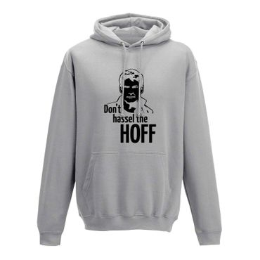 Hoodie Don't Hassel the Hoff David Baywatch Freedom 10 Farben Herren XS - 5XL – Bild 5