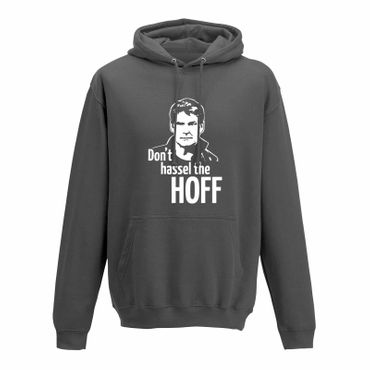 Hoodie Don't Hassel the Hoff David Baywatch Freedom 10 Farben Herren XS - 5XL – Bild 6