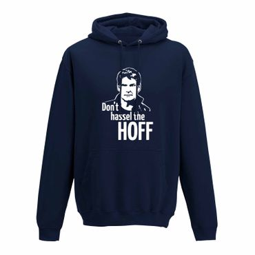 Hoodie Don't Hassel the Hoff David Baywatch Freedom 10 Farben Herren XS - 5XL – Bild 7