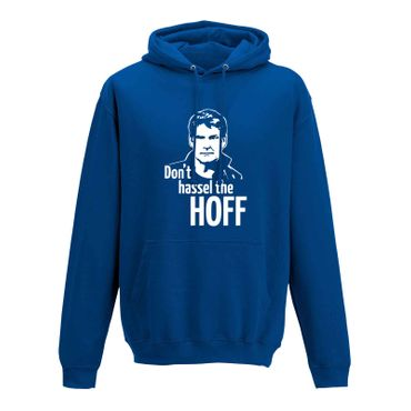 Hoodie Don't Hassel the Hoff David Baywatch Freedom 10 Farben Herren XS - 5XL – Bild 8