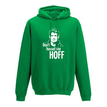 Hoodie Don't Hassel the Hoff David Baywatch Freedom 10 Farben Herren XS - 5XL – Bild 9