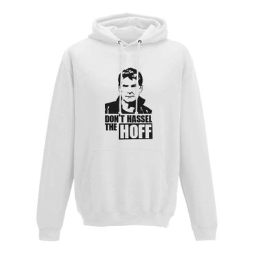 Hoodie Don't Hassel the Hoff David Baywatch Freedom 10 Farben Herren XS - 5XL – Bild 1