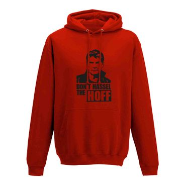 Hoodie Don't Hassel the Hoff David Baywatch Freedom 10 Farben Herren XS - 5XL – Bild 10