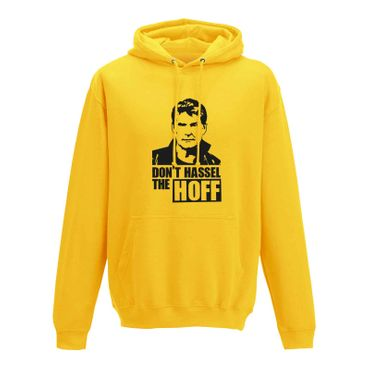 Hoodie Don't Hassel the Hoff David Baywatch Freedom 10 Farben Herren XS - 5XL – Bild 12
