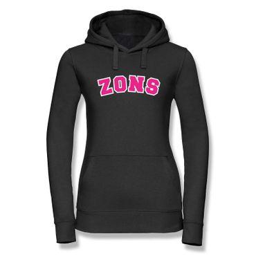 Hoodie Zons College Style Geschenk Präsent Dormagen 8 Farben Damen XS-XL – Bild 5