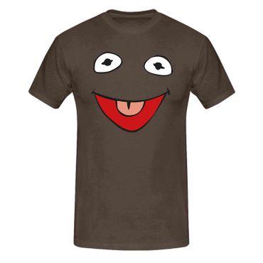 T-Shirt Frosch Kostüm Karneval Fasching Sesamstraße 13 Farben Herren XS - 5XL – Bild 8