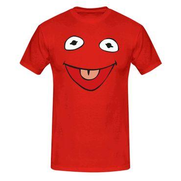 T-Shirt Frosch Kostüm Karneval Fasching Sesamstraße 13 Farben Herren XS - 5XL – Bild 13