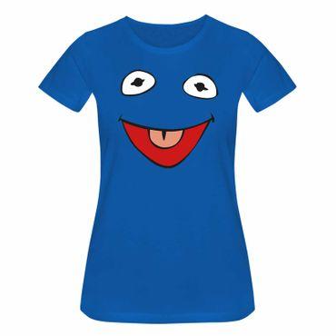 T-Shirt Frosch Kostüm Karneval Fasching Sesamstraße 15 Farben Damen XS - 3XL – Bild 11