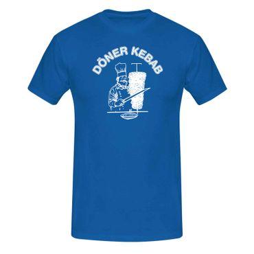 T-Shirt Döner Kebab Imbiss Karneval Party Kostüm lustig 13 Farben Herren XS-5XL – Bild 12