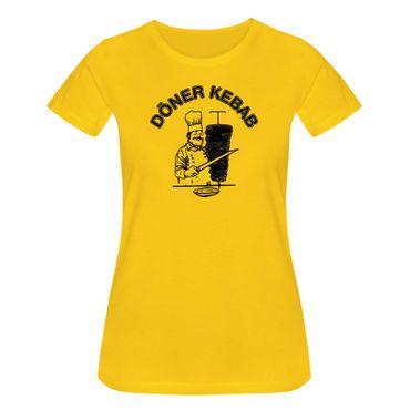 T-Shirt Döner Kebab Imbiss Karneval Party Kostüm lustig 15 Farben Damen XS - 5XL – Bild 17