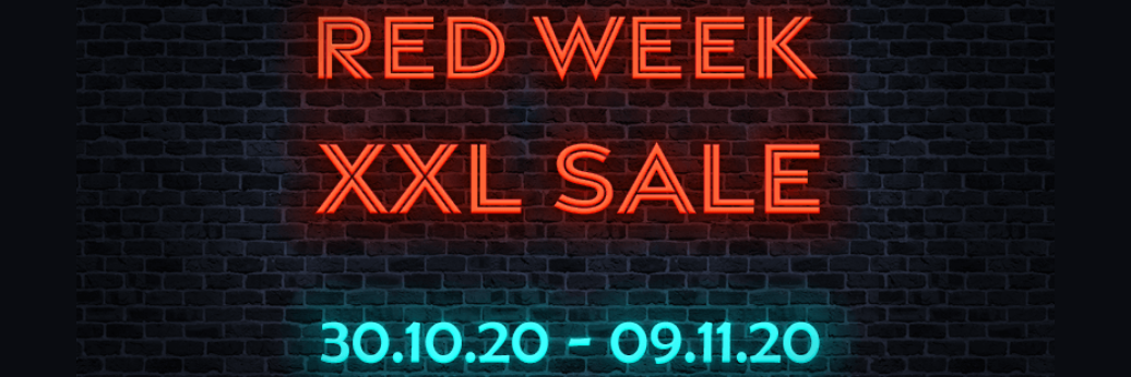 Red Week XXL Sale 2020