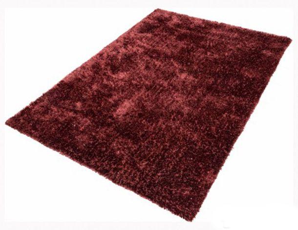 Teppich Shaggy Hochflorteppich NOVA 200x290 cm Rot