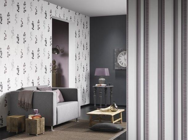 Wallpaper texture plain white Novara P+S 13082-10 online kaufen