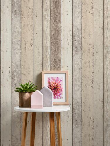 Wallpaper wood design board white AS Creation 8951-10 online kaufen