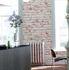 Vliestapete livingwalls Küche Detail New England 2 Stein-Optik braun weiß 9078-13 6