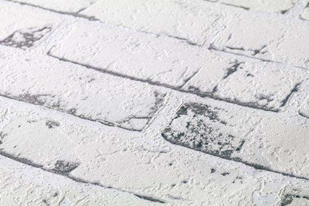 Vlies Tapete Steinoptik Mauer weiß AS Creation 9078-37 online kaufen