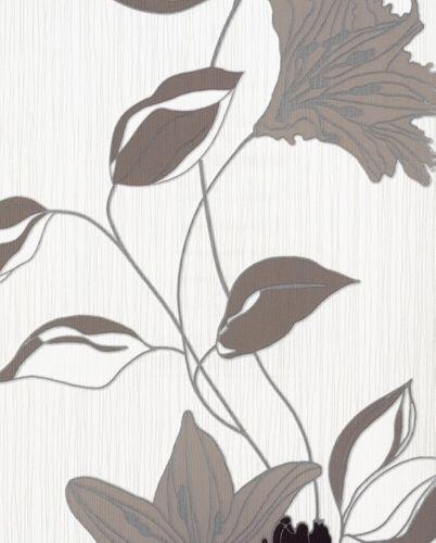 Daniel Hechter Vliestapete 9128-31 Blumen braun online kaufen