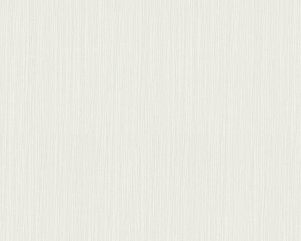 Wallpaper Non-Woven structure striped cream white 9130-50