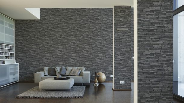 Wallpaper natural stone design grey AS Creation 9142-24 online kaufen