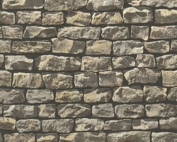 Wallpaper natural stone design brown AS Creation 9079-12 online kaufen
