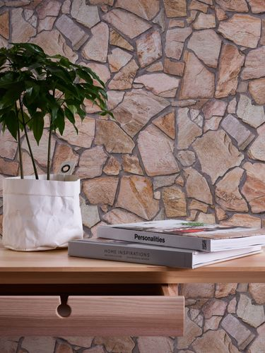 Wallpaper natural stone design brown AS Creation 9273-16 online kaufen