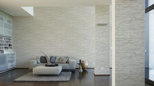 Wallpaper natural stone design white AS Creation 7071-61 online kaufen