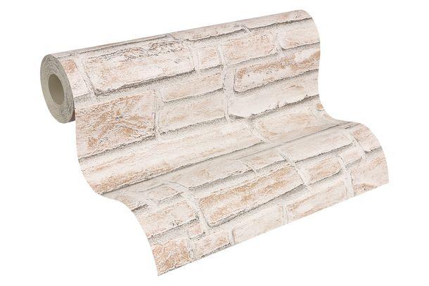 Dekora Natur Tapete AS Tapete 6621-25 662125 Steinmauer creme beige online kaufen