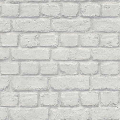 Jugendtapete Rasch Stein-Optik Mauer grau 226713 online kaufen