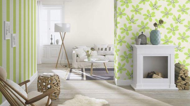 Non-Woven Wallpaper Plain Structured white Rasch 489507 online kaufen