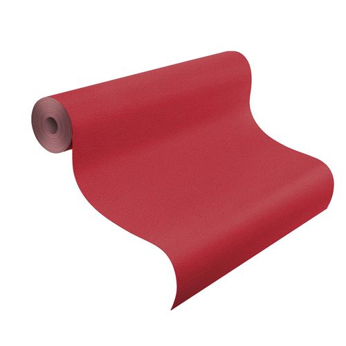 Non-Woven Wallpaper Plain Structured red Rasch 740288 online kaufen