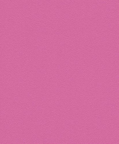 Non-Woven Wallpaper Plain Structured pink Rasch 740295