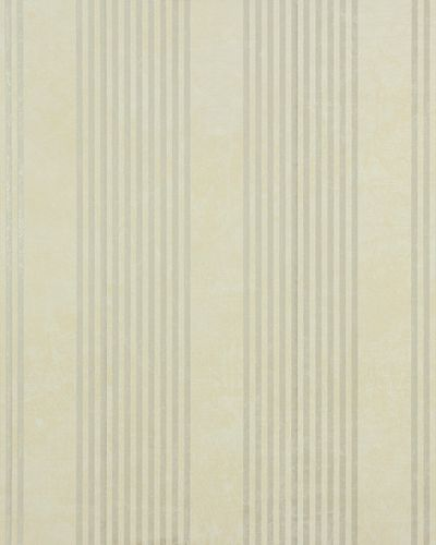 Non-woven wallpaper 53108 stripes cream bronze gloss