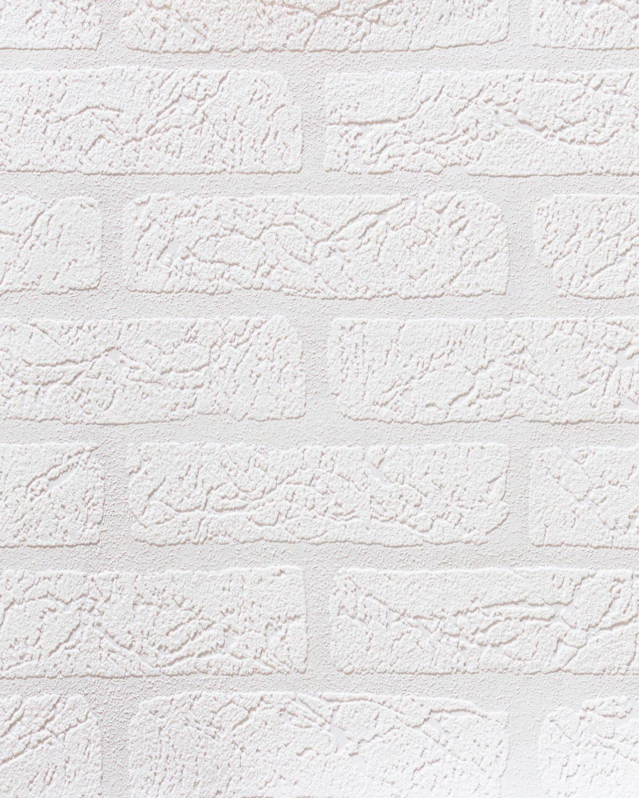 Küchentapete rasch Aqua Relief Vinyltapete 309627 Tapete Steine weiß ...