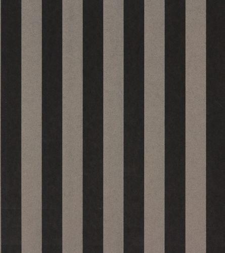Rasch Textil Vliestapete 221557 Streifen braun schwarz  online kaufen