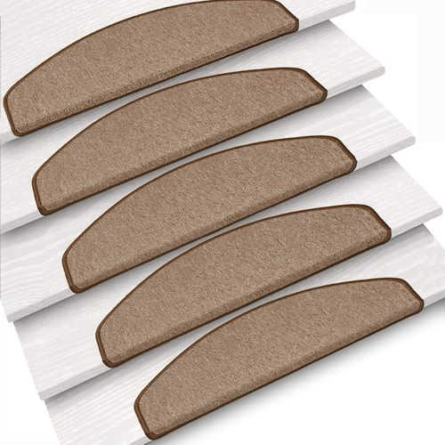 Set of 15 stair mats Nizza sling beige buy online