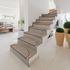 Raumbild 15er Set Stufenmatten Nizza Schlinge beige-braun Treppenstufen 5