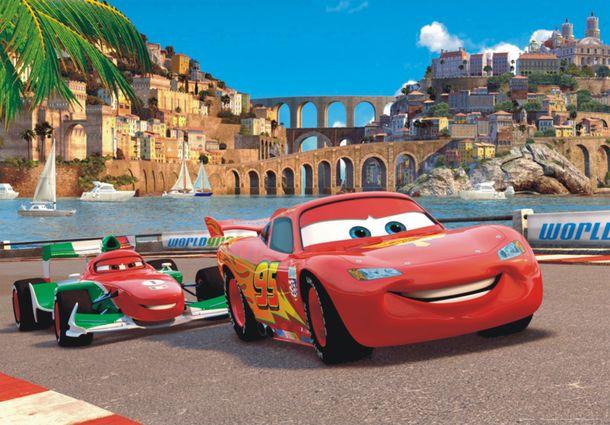Fototapete Disney Cars 2 160 x 115 cm + Kleister  online kaufen