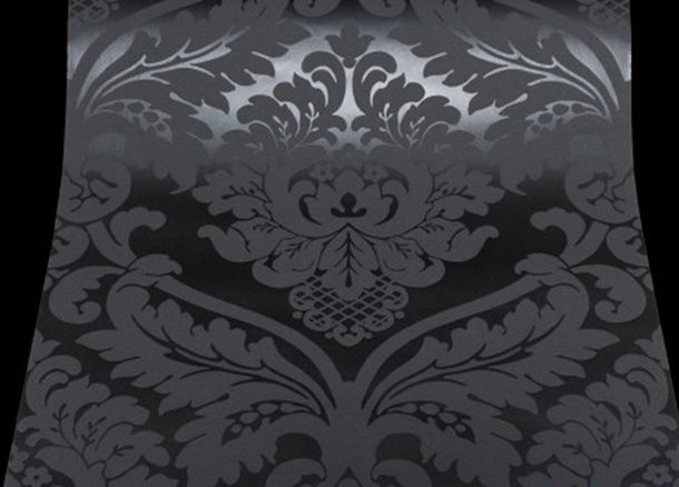 Wallpaper baroque black AS Creation 5526-31