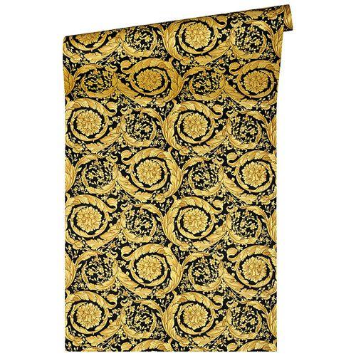 Versace Home Tapete Blumen Klassik gold Glanz 93583-4 online kaufen