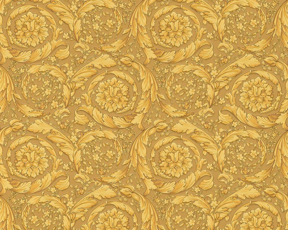 versace home tapete design ornamente barock gold 93583 3. Black Bedroom Furniture Sets. Home Design Ideas