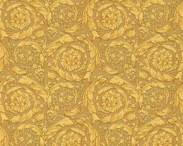 Versace Home wallpaper baroque ornament gold 93583-3 online kaufen