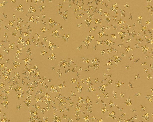 Versace Home Tapete Design Blüten gold 93585-3 online kaufen