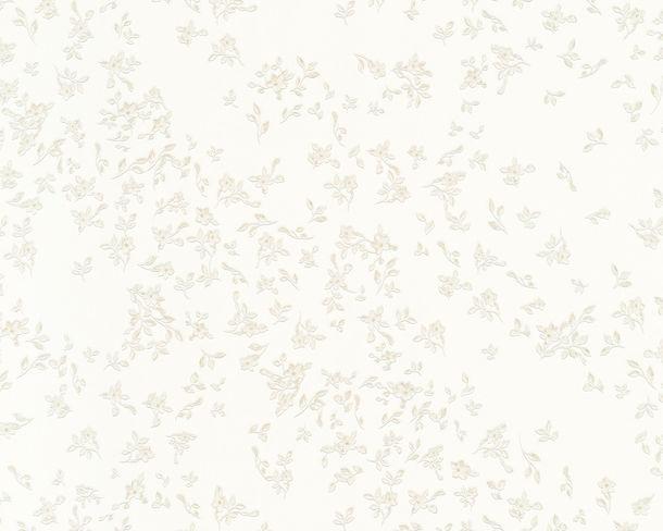 Versace Home wallpaper floral white metallic 93585-2 online kaufen