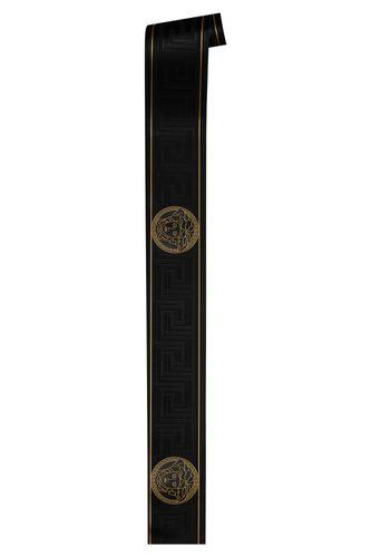 Versace Home Bordüre Medusa schwarz gold Glanz 93522-4