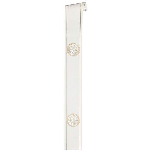 Versace Home Bordüre Medusa weiß gold Glanz 93522-3 online kaufen