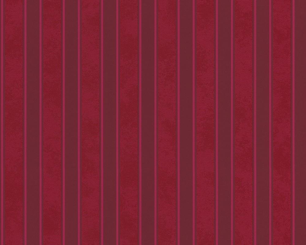 935693 Rot Streifen Barockes Design AS-Creation Vliestapete Kollektion Versace