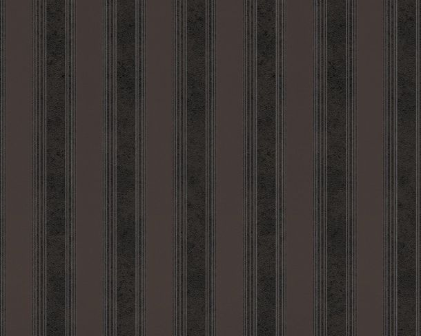 Versace Home wallpaper stripes black brown 93589-4 online kaufen