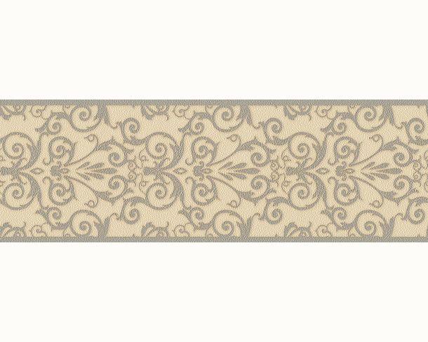Versace Home wallpaper baroque texture beige grey 93547-5 online kaufen